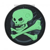 Rubber Patch Velcro Backed for Airsoft and Paintball